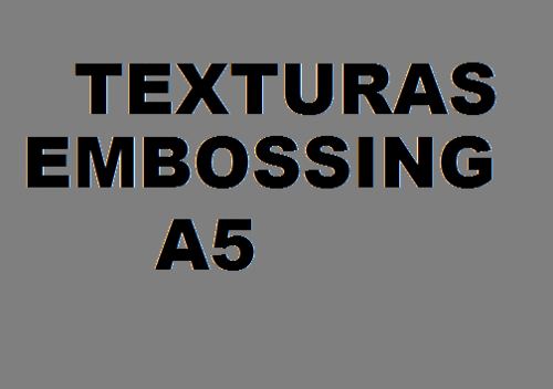 Texturas Embossing A5