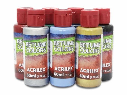 Frasco de Betume Colors 60ml Acrilex